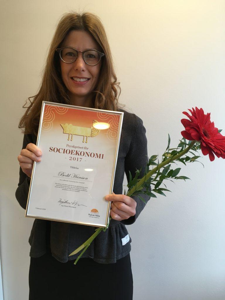 Kategori Socioekonomi - Bodil Hansson, vice ordförande i kommunstyrelsen Sundsvall