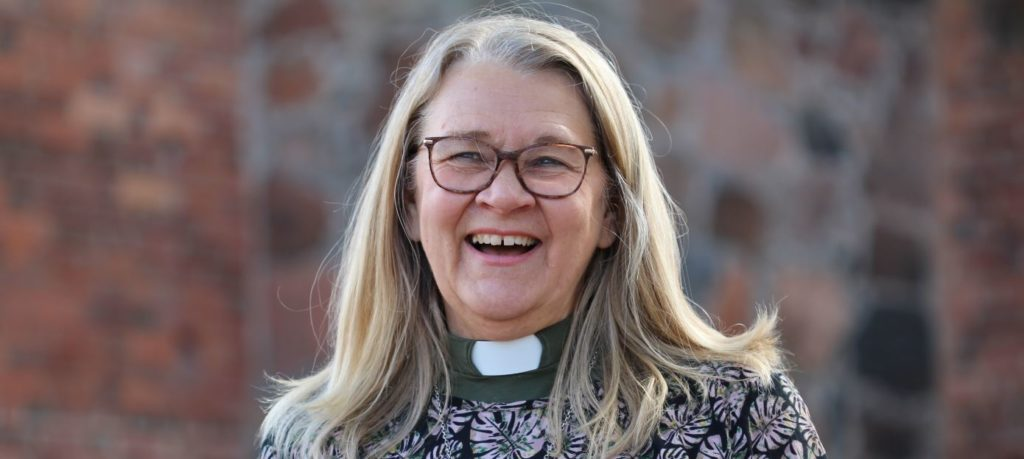 Kerstin OIsson, diakon i Svenska Kyrkan